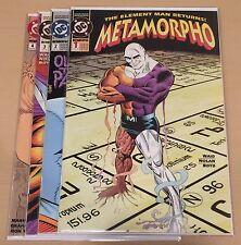 Metamorpho (1993 DC) #1 #2 #3 #4 Complete Mini Series 1-4 Must See! High Grade!