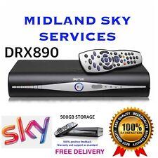 SKY PLUS + HD BOX DRX890 AMSTRAD BOX ONLY DEAL 500GB SLIMLINE