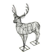 Topiary Metal Wire Frame Deer
