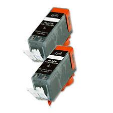 2 BLACK Ink Cartridge for Canon Printer PGI-220BK MP640 MX860 MX870