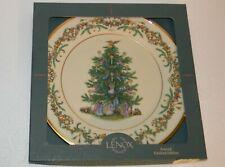 "Lenox Christmas Trees Around The World Plate Italy 1997 F434 10.75"" dia"