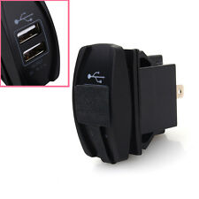 1Pc CAR BOAT BLUE LED DUAL USB CAR CHARGER ARB CARLING ROCKER SWITCH 5V 3.1A SE