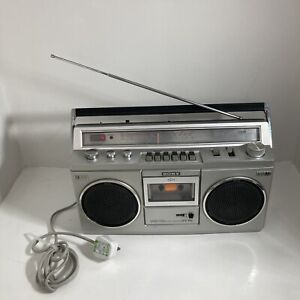 Sony CFS 45L - Radio Cassette Player - Boom Box - Vintage Tested Working