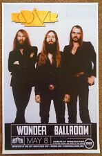 KADAVAR 2014 Gig POSTER Portland Oregon Concert Abra Kadavar