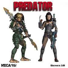 "Neca Predator Series 18  7"" New Official Machiko Broken Tusk New UK Boxed Figure"