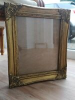 Gold gilt antique effect hand painted and waxed Picture photo frame 10x8