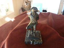 Napoléon 1er,bronze à patine foncée,H 14cm,605g