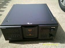 Sony ES M555ES 400 disc cd player high end /no remote