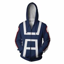 My Boku no Hero Academia Kohei Horikoshi gym Sweatshirt Hoodie Costume Coat New