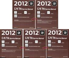 Shop Manual Service Repair 2012 Tahoe Suburban Chevrolet Book(Fits: Cadillac)