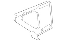 Genuine GM Battery Tray Support 10399558
