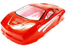 10127 1/10 Scale Drift Touring Car Body Cover Shell RC Red Cut