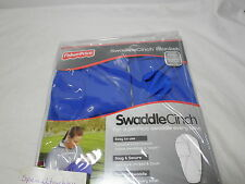 New Fisher-Price Blue Swaddle Cinch Blanket -  Sm-Med 0-4 Months 7-14 lbs Boy