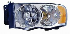 2005 Dodge Ram Pickup New Left/Driver Side Headlight Assembly
