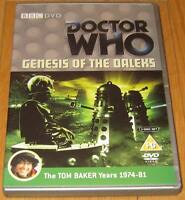 Doctor Who DVD - Genesis of the Daleks (Excellent Condition)