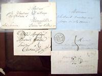 1844 LOTTO PREFILATELICHE FRANCESI St.DIZIER GRAND LUCE