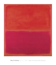 3 mark rothko print poster abstract yale university art gallery 32x28