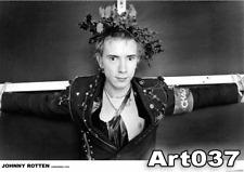 """Sex Pistols Johnny Rotten Xmas 1976 34""""x24"""" Poster"""