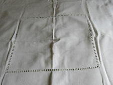 Linen Tablecloth with Drawn work & 6 Napkins