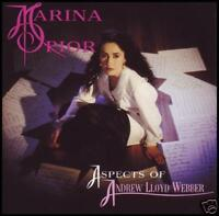 MARINA PRIOR - ASPECTS OF ANDREW LLOYD WEBBER CD *NEW*