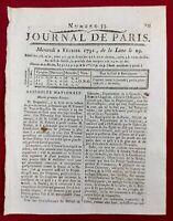 San Preuil in 1791 Charente Commercy Meuse Vino Vite Montlausier Revo