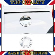 Chrome Fuel Flap Trim Cover S.STEEL for Vauxhall Opel Combo 2012-2018