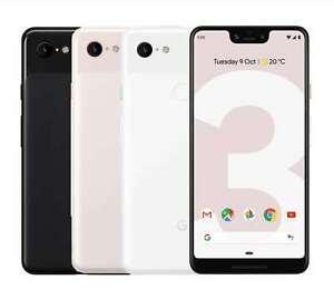 "Google Pixel 3XL G013C 64G 6.3"" 4G LTE Factory Unlocked Smartphone Brand New"
