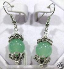 Beautiful Tibet Tibetan silver national style earrings  BLUE