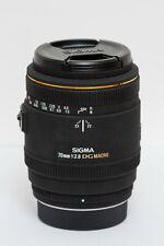 Sigma AF 70mm 2.8 EX DG Makro für Pentax K schwarz