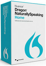 Nuance Dragon NaturallySpeaking Home 13, SPANISH - New Retail Box
