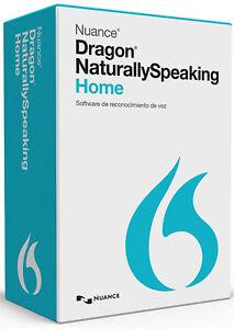 Nuance Dragon NaturallySpeaking Home 13, Spanish (Español) - New Retail Box