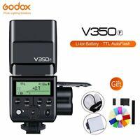 Godox V350F TTL HSS 1/8000s Speedlite Flash with Li-ion Battery for Fuji Camera
