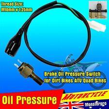 Motocross Dirt Bike Motorbike Moto Banjo Oil Pressure Switch M10-1.25