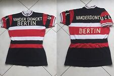 very rare VINTAGE BERTIN JERSEY road Track Bikes vanderdonckt UCL french