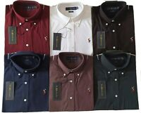 Polo Ralph Lauren Oxford Pima Shirt Long Sleeve Slim Fit 2020 Collection NEW