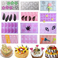 3D Silicone Chocolate Mold Fondant Cake Decor Candy Sugarcraft Baking Mould Tool