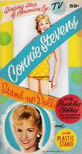Vintage Uncut 1961 Connie Stevens Paper Dolls~Hawaiian Eye~#1 Reproduction~Nice