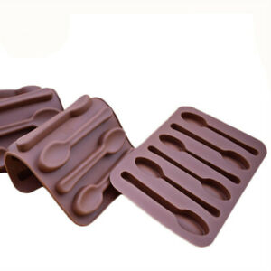 Spoon shape silicone chocolate mould / Silicone spoon Mould Sugarcraft Mold Cake