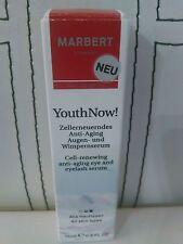 (239,93€/100ml)  Marbert Youth Now Anti Aging Augen und Wimpernserum 15ml neu