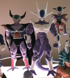 Dragonball Z King Cold Cooler Frieza Custom  Figuarts Jakks Figures Lot Set