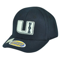 NCAA Utah State Aggies Top of the World Infant Fit Stretch Navy Blue Hat Cap
