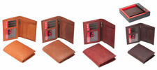 Leather Bifold Wallets Vintage Bags
