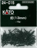 Kato 24-015 - 1 x 10g Pack of 13mm Long Black Hornby Type Track Fixing Pins 1st