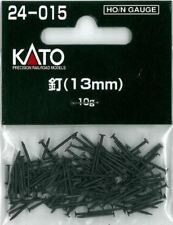 Kato 24-015 - 1 x 10g Pack of 13mm Long Black Track Fixing Pins - 1st Class Post