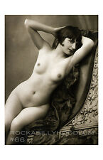 Pin Up Girl Poster 11x17 art deco flapper bob haircut