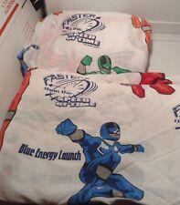 Power Ranger Twin Sheet Set Flat & Fitted Sheets