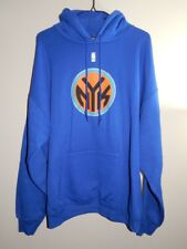 Outerwear - NY Knicks Subway Token Hoodie - NBA Exclusive Collection - Blue XL