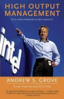 High Output Management, Paperback by Grove, Andrew S., Like New Used, Free P&...