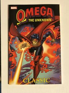 OMEGA THE UNKNOWN CLASSIC*STEVE GERBER*TRADE PAPER BACK*MARVEL