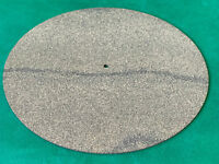 High Density Cork and Neoprene/Nitrile (NBR) Rubber Turntable Mat 3mm Thick